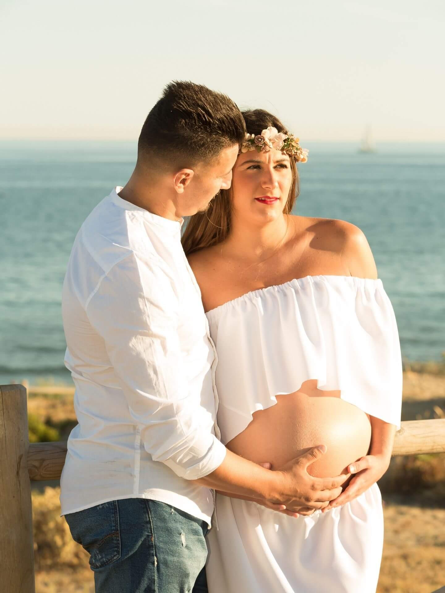 foto marbella fotografia de embarazo